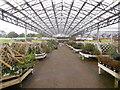 TQ0703 : Haskins Garden Centre. Roundstone by Paul Gillett