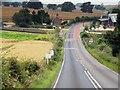 SU5755 : Kingsclere Road (A339) approaching Pitt Hall by David Dixon