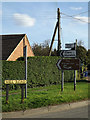 TL7046 : Roadsigns on Mill Road by Geographer
