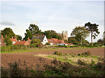 SK7288 : Clayworth from the canal by Alan Murray-Rust