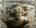 SP3211 : Minster Lovell - Stone carving on Southwest Tower by Rob Farrow