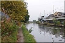 SJ8196 : Bridgewater Canal Near Pomona Tram Stop by Glyn Baker