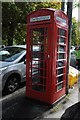 SO9421 : Defibrillator in a phone box by Philip Halling