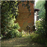 SP0366 : Southeast corner of former burial ground, Rectory Road, Headless Cross, Redditch by Robin Stott
