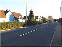 TL8647 : A1092 High Street, Long Melford by Adrian Cable