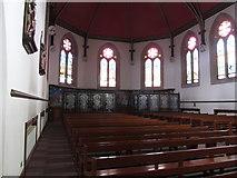J4844 : The transept of St Patrick's Catholic Church, Downpatrick by Eric Jones