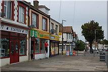 TQ8986 : Shops in Hamstel Road by Trevor Harris
