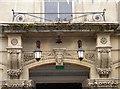 SP0202 : Doorway balcony by Neil Owen