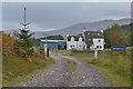 NN2634 : Glen Orchy farm by Nigel Brown