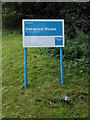 TG1808 : Oakwood House Nursing Home sign by Adrian Cable