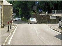 SK2375 : Stoney Middleton, The Avenue (A623) by David Dixon