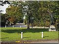 SK8376 : Village green at Laughterton by Trevor Littlewood