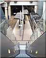 SP0687 : Looking down the up escalator, Midland Metro terminus, Snow Hill, Birmingham by Robin Stott