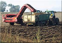 TA0114 : Potato Harvest near Worlaby by David Wright