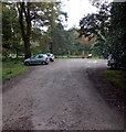SO6212 : Parking area near an entrance to  the Cyril Hart Arboretum, Forest of Dean by Jaggery