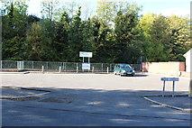 NS5036 : Barr Castle Car Park, Galston by Billy McCrorie
