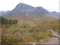 NN2256 : West Highland Way north of Altnafeadh by Dave Kelly