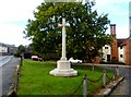 TL6913 : War Memorial, Great Waltham by Bikeboy