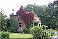 SJ3758 : Lodge to Eaton Hall by Dave Dunford