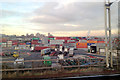 SP0887 : Freight container transfer site, Landor Road, Vauxhall, Birmingham by Robin Stott