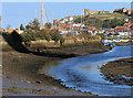NZ8910 : The tidal River Esk by Pauline E