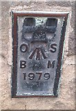 NU1813 : OS Flush Bracket 1979 - Town Hall, Alnwick by thejackrustles