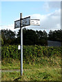 TM2163 : Roadsign on The Street by Adrian Cable