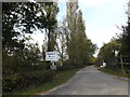 TM1461 : Entrance to Topcroft Equestrian Centre by Geographer