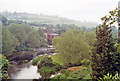 ST8060 : Upstream on River Avon at Avoncliff, 1991 by Ben Brooksbank
