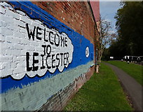 SK5702 : Welcome to Leicester by Mat Fascione