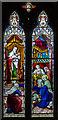 TQ8835 : Stained glass window, St Michael's church, Tenterden by Julian P Guffogg
