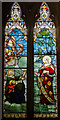 TQ8835 : Stained glass window, St Michael's church, Tenterden by Julian P Guffogg