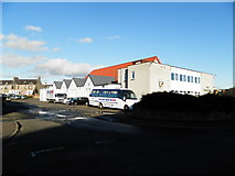 NO3700 : Former drill hall in Leven by Douglas Nelson