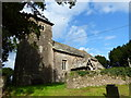 SO4110 : St Mary's church, Tregare, from the adjacent burial ground by Ruth Sharville