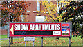J3471 : Estate agents' signs, The Embankment, Belfast (October 2014) by Albert Bridge