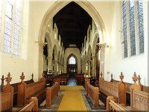 TL4568 : All Saints, Cottenham - West end by John Salmon