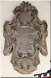 TL4568 : All Saints, Cottenham - Wall monument by John Salmon