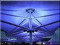 TL6262 : New blue roof by Richard Humphrey