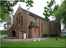 SU8652 : St Andrew, Queen's Avenue, Aldershot by Stephen Richards