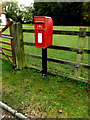 TM0860 : Private Postbox at Grange Farm by Adrian Cable