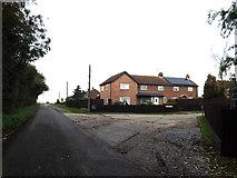 TM0960 : Blacksmiths Lane, Forward Green by Adrian Cable