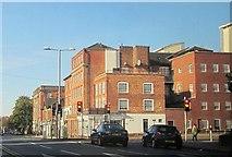 SK5640 : Buildings on Derby Road, Nottingham by Derek Harper