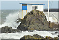 J5182 : Hurricane Gonzalo, Bangor - October 2014(3) by Albert Bridge