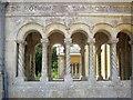 SU0931 : Cloisters, Church of St Mary & St Nicholas, Wilton by Derek Harper