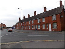 SU0061 : Row of houses at the SE end of Commercial Road, Devizes by Jaggery