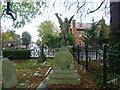 TQ1785 : St John's Churchyard, Wembley by Marathon