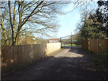 SP0874 : Drive to a new bungalow, rear of Barkers Lane between Inkford and Tanner's Green by Robin Stott