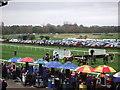 TF9228 : Start of a 3 mile race at Fakenham Racecourse by Richard Humphrey
