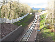 NT3461 : Looking west from Gorebridge by M J Richardson