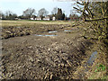 SP0875 : Field drainage works by Station Road, Wythall by Robin Stott